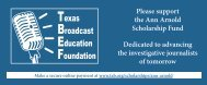 download and return the donation card - Texas Association of ...