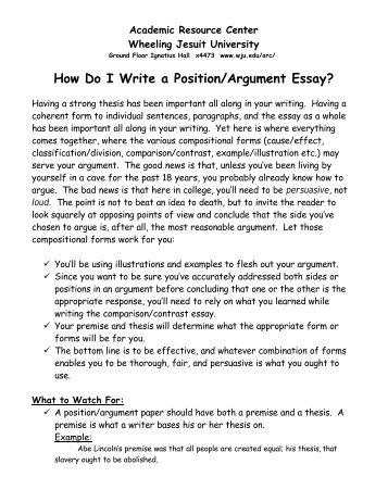 submission notes position essay using sources how do i write a position argument essay wheeling jesuit