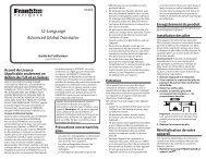 12-Language Advanced Global Translator - Franklin Electronic ...