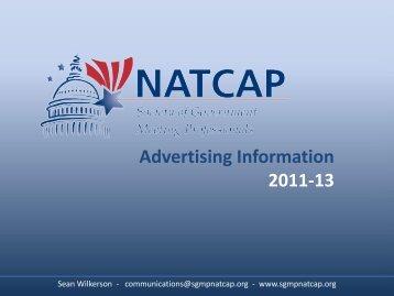 Advertising Information Brochure