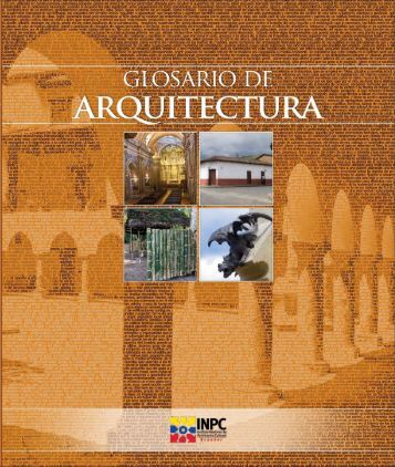 Glosario de Arquitectura - Arqueología Ecuatoriana