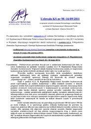 Uchwała KS nr 98 /16/09/2011 - Komisja Szybowcowa AP