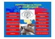 BIENVENIDOS A LA PÁGINA DE EPIDEMIOLOGÍA - Instituto ...