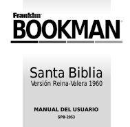 expandable electronic book bookman - Franklin Electronic Publishers