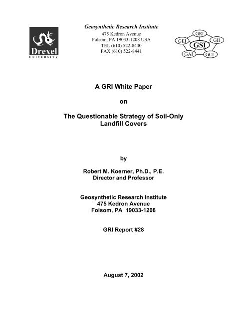 designing with geosynthetics koerner pdf free download