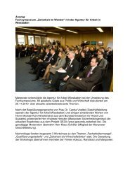 Fachsymposium - Gesunde Zeitarbeit