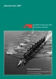 Jahresbericht 2007 - IV-Stelle des Kantons Solothurn
