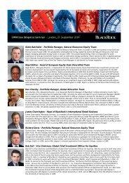 Portfolio Manager, Natural Resources Equity - BlackRock International