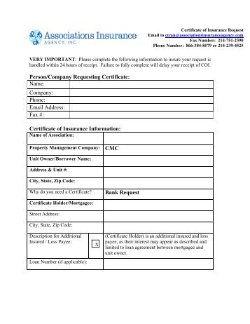 Pathology Request for Insurance Form - MLC