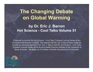 The Changing Debate g g on Global Warming - Environmental ...