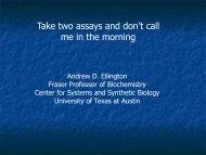 PDF Presentation - The University of Texas at Austin