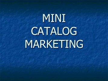 Mini-Catalogs - Altman Dedicated Direct
