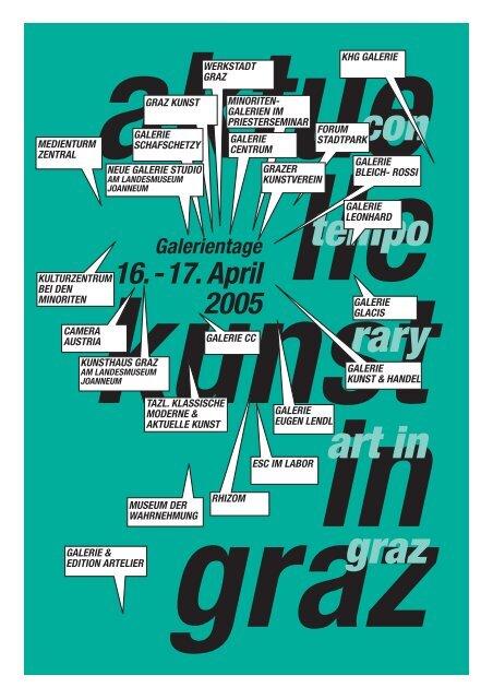 16.-17. April 2005 - Aktuelle Kunst in Graz