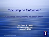 Program Outcomes - Center for Enhanced Learning and Teaching ...