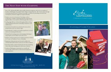 Learn more - Clark College Foundation