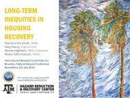 Long-term Inequities in Housing Recovery