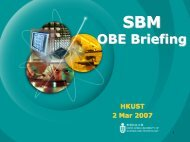 OBE Briefing - Center for Enhanced Learning and Teaching (CELT)
