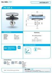 Datenblatt PH 68 A - Glassline GmbH