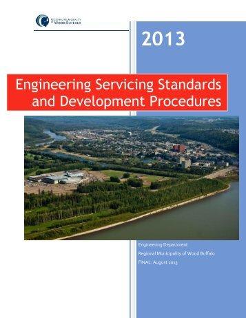 Engineering Servicing Standards and Development Procedures
