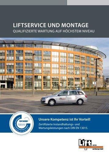 Liftservice und Montage - Tepper Aufzüge GmbH