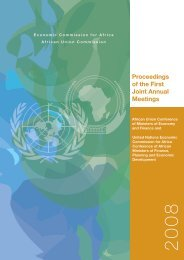 Proceedings of the First Joint Annual Meetings - United Nations ...