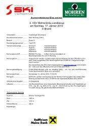 3. VSV Mohrenbräu Landescup am Sonntag, 17 ... - Wsvaltach.at