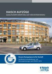 HaiscH aufzüge - Tepper Aufzüge GmbH