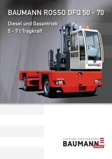 Seitenstapler DFQ 50 - 70 Diesel - Gabelstapler-Center Kamen