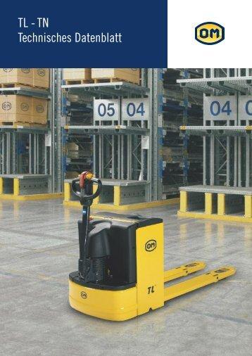 TL - TN Technisches Datenblatt - Gabelstapler-Center Kamen