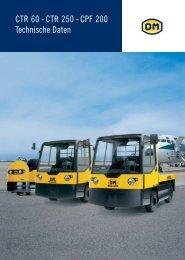 CTR 250 - CPF 200 Technische Daten - Gabelstapler-Center Kamen