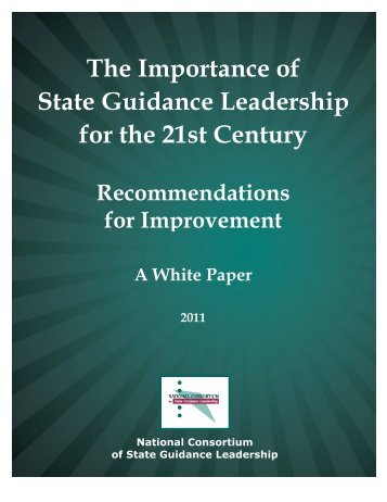 The Importance of State Guidance Leadership for the 21st Century