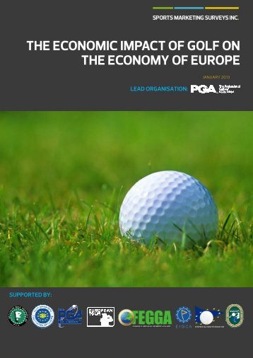 the economic impact of golf on the economy of europe - Fghs