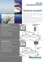 NMEA 2000® Micro System Paketangebote Systeme komplett - GMM