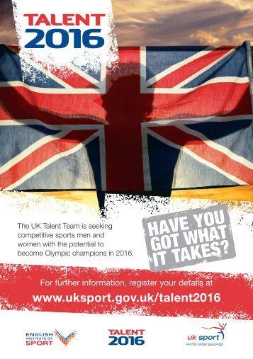 Talent 2016 - Kent Sport