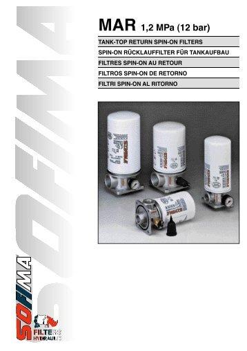 MAR 1,2 MPa (12 bar) - Fluidtech