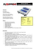 Primus FD-60 - AHG-Electronic - Page 4