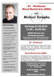 Michael Konopka - SENKI Martial Arts Kampfsportschulen