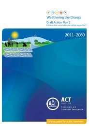 Weathering the Change Draft Action Plan 2 - Timetotalk.act.gov.au ...