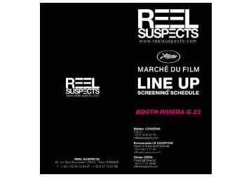 Cannes MARCHE DU FILM 2012 - Full PDF Line up - reel suspects