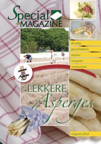 Bekijk dit magazine - Aspergemagazine