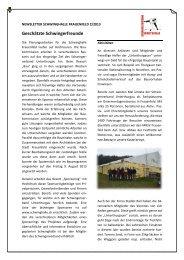 Newsletter 02 2013 orig. - Thurgauer Kantonalen Schwingerverband