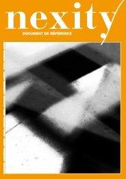 Document de référence 2009 (.pdf 3.3 Mo) - Nexity