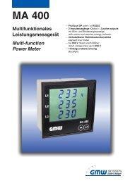 Katalog MA 400