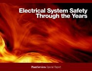 Electrical System Safety Through the Years - Plant Services