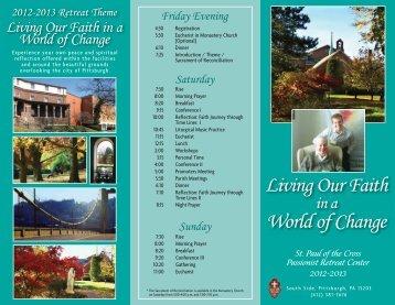 St Paul 2012 Flyer.indd - Saint Kilian Parish