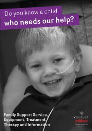 Do You Know A Child Who Needs Our Help? - Mansfield and ...