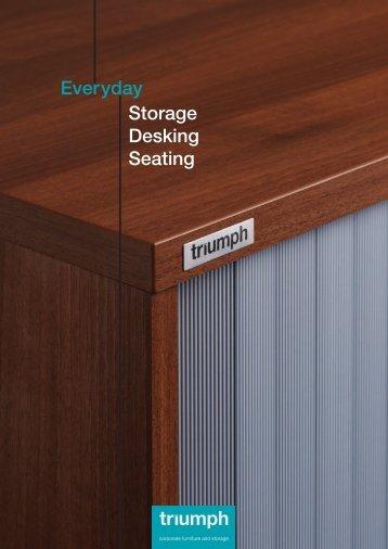 Everyday Storage Desking Seating - Triumph