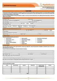 Pet Travel Insurance claim form - Petplan