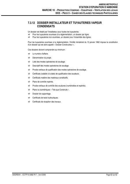 (CCTP Ambonne marché 10 chauffageAO) - Ajouter aux favoris