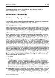 Schriftliche Antwort der Regierung vom 4. April 2006 - Grüne Kanton ...